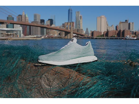 ADIDAS Crafts Shoe Made Completely Out Of Ocean Garbage — Today In Awesome