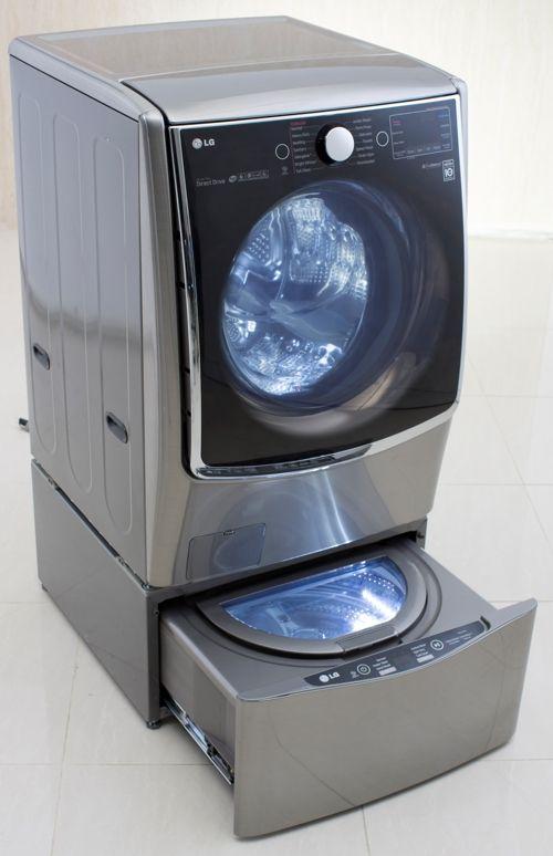 Good idea ! Lave-linge Twin Wash de LG, quand les Coréens inventent le lave-linge kangourou | Bien choisir mon electromenager .com