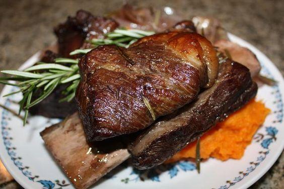 Ina Gartens Wine Braised Beef Short Rib Recipe