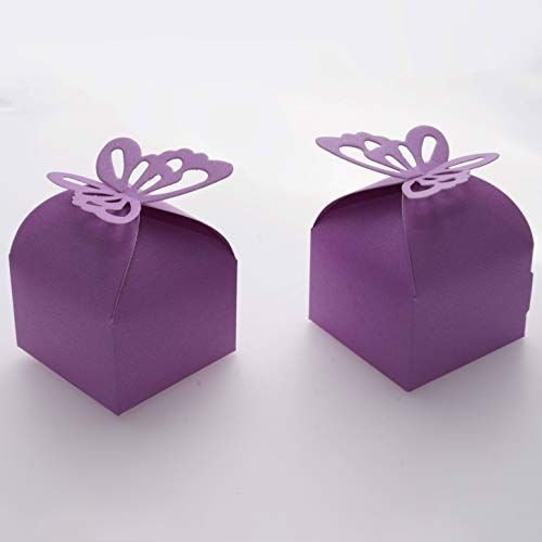 White Treat Box Party Accessory for Weddings Baby Shower or Birthday Party Favours