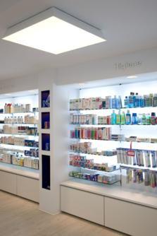 Muebles para farmacia mostradores para farmacia for Muebles para farmacia