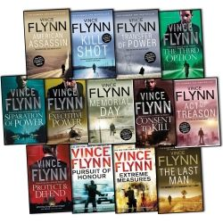 Vince Flynn Mitch Rapp 13 Books Collection. RIP Vince Flynn. Thank you for a brilliant series!