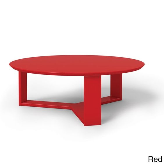 Manhattan Comfort Madison 1.0 35.78-inch Round Accent Coffee Table  overstock.com  $84.99