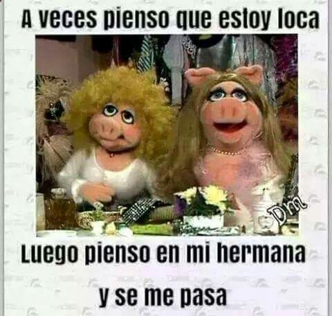 Con Dedicatoria A Mi Hermana Muppets Funny Quootes The Muppet Show