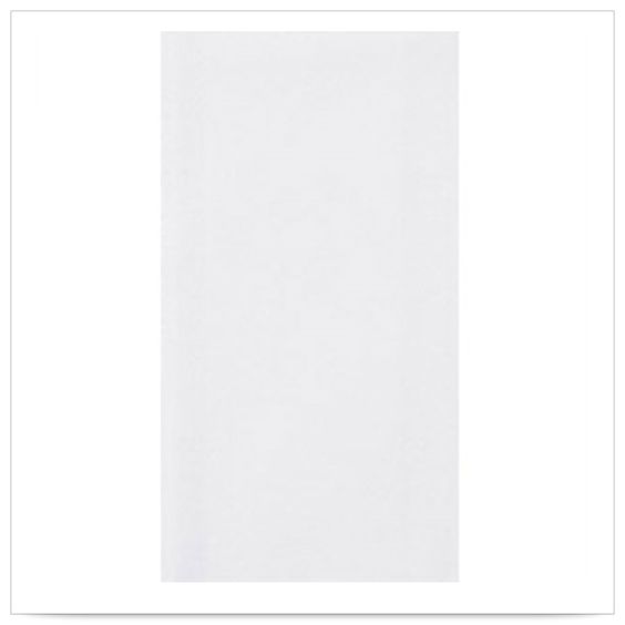 8 x 17 Flusheeze White Dispersible Guest Towel 1/4 Fold/Case of 500