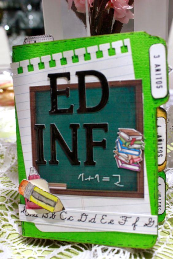 Mini álbum Educación Infantil