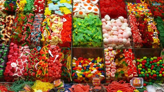 Sweet Candy Shop - do you love these? BE CAREFUL **DANGER** http://peaklifelink.com/health/reducing-sugar-fixed-my-gut-issues/
