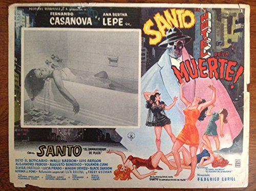 "Santo en El Holtel de la Muerte! (1963) Lobby Card (16 1/2"" x 11 1/2"") null http://www.amazon.com/dp/B0137HG9P2/ref=cm_sw_r_pi_dp_Aa52vb13JW3BK"