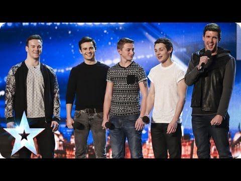 Collabro sing Stars from Les Misérables | Britain's Got Talent 2014 (+pl...