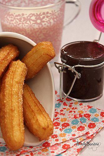 Churros de Christophe Michalak..délicieux trempés dans une de nos recettes !