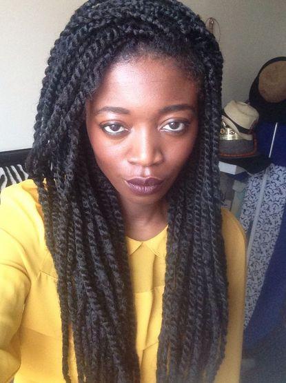 Fine Marley Braids African Hair And Twist Hairstyles On Pinterest Short Hairstyles Gunalazisus