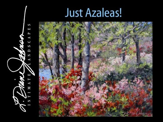 'Just Azaleas' collection of landscape paintings