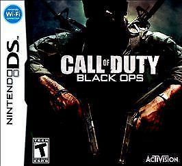 Call of Duty: Black Ops Nintendo DS Epic Exciting Games Videos Gamer Weaponry