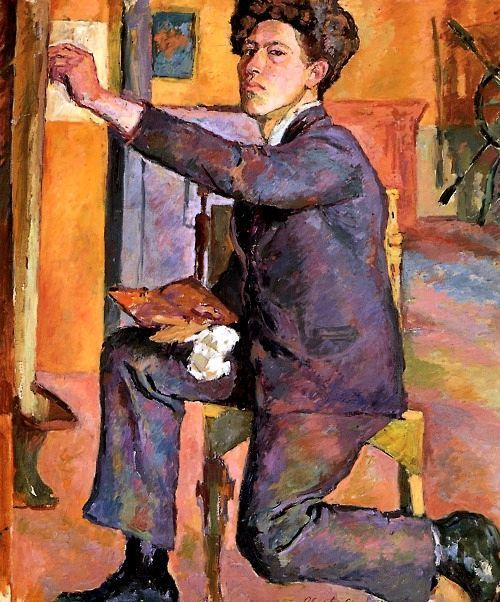 Self Portrait, Alberto Giacometti