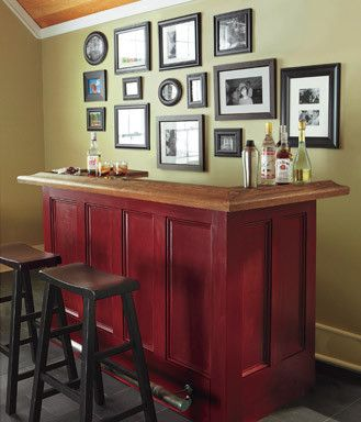 Build It Or Buy It: Home Bar