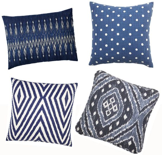 Add an Indigo-Hued Pillow This Spring (http://blog.hgtv.com/design/2014/05/02/hgtv-may-2014-color-of-the-month-indigo/?soc=Pinterest): Blue Doyoulovewhereyoulive, Bedroom Decor, Decorative Pillows, Indigo Pillows, Pillows Featured, Blue Carpet, Living, Perfect Pillows, Clemont Pillows