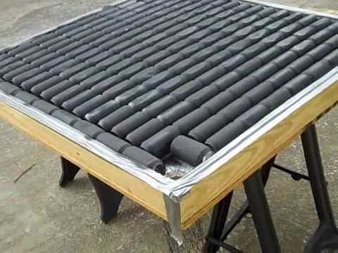 diy solar heater buildperfect for heating a greenhouse or cold frame