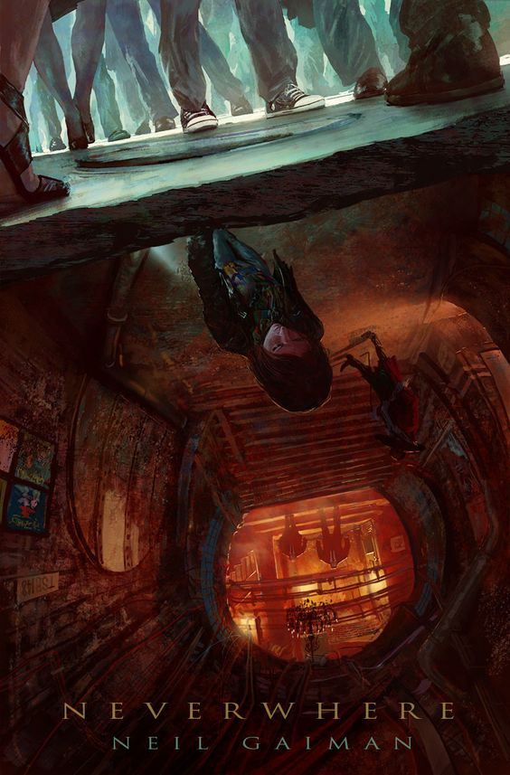 NEVERWHERE, Marc Simonetti on ArtStation at https://www.artstation.com/artwork/GmbDN: