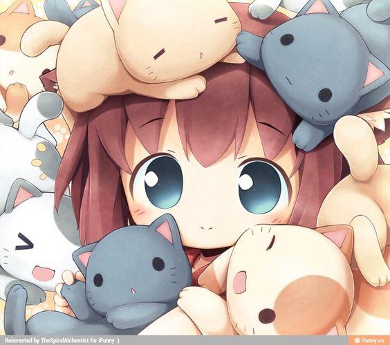 Kitties!! ^___^                                                                                                                                                      More