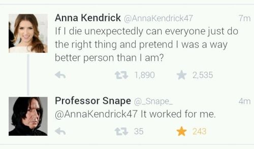 One of my favorite twitter exchanges