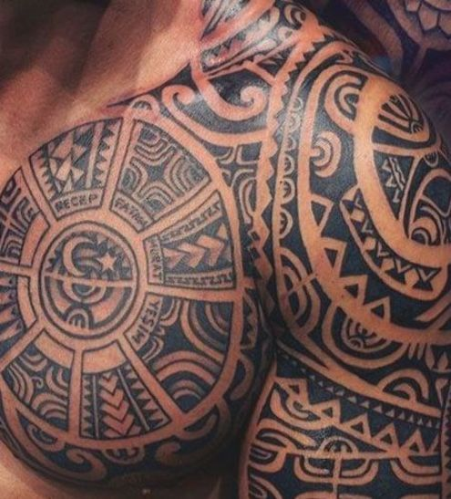 Tribal Chest Tattoo Badass Tribal Tattoos For Men Best Tribal Tattoo Ideas And Cool Designs In 2020 Cool Tribal Tattoos Tribal Tattoos For Men Tribal Chest Tattoos