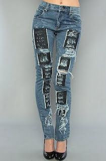 cheap ripped jeans for teens | Cheap Monday Ripped Jeans ...