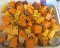 Favourite Recipes: Roasted Chicken, Squash, and Potatoes