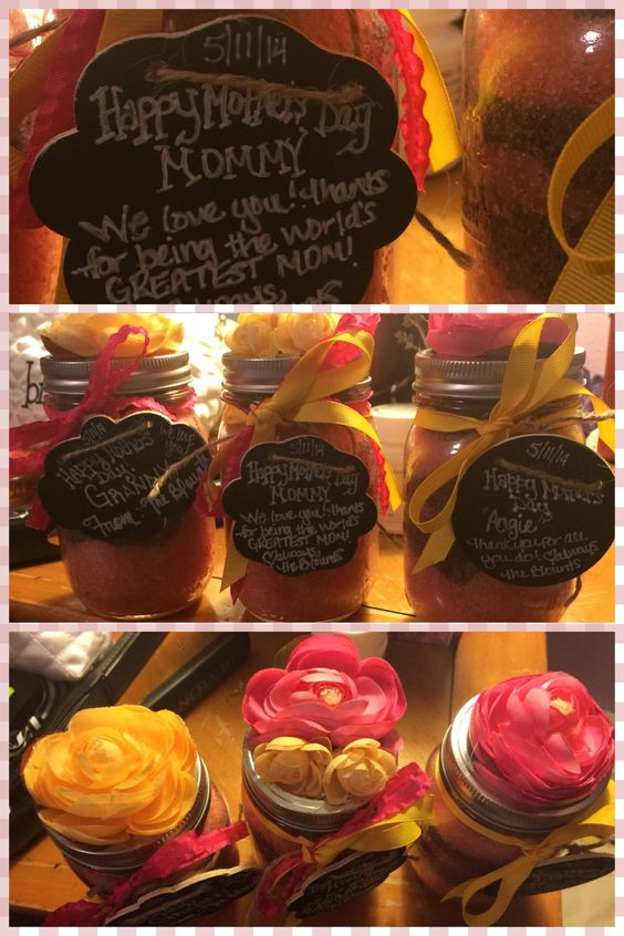 Fun idea for Mother's Day gifts