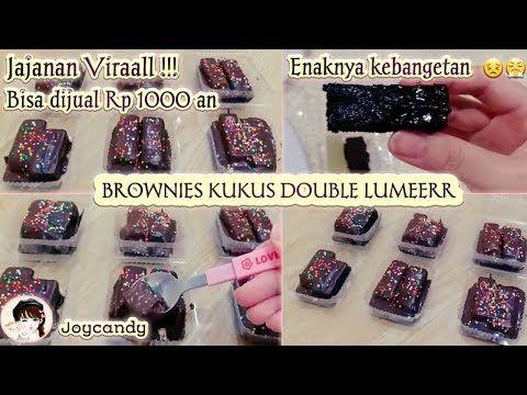 Jajanan Viral Resep Brownies Kukus Lumer Jajanan 1000 An Youtube Ide Bisnis Rumahan Resep Brownies