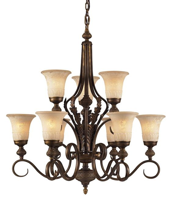 9-Light Traditional Chandelier - http://chandelierspot.com/9light-traditional-chandelier-541042611/