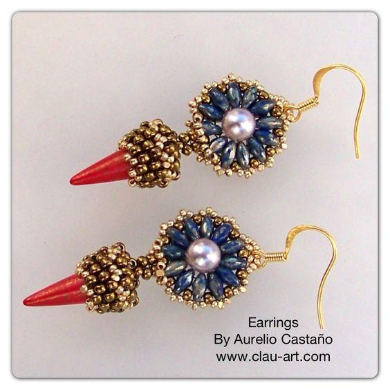 Earrings  #beadwork