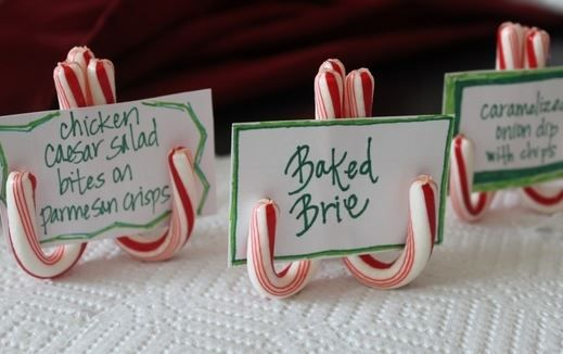 christmas names and buffet on pinterest