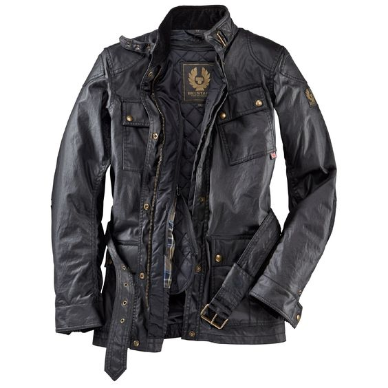 Belstaff Damenjacke Classic Tourist Woman Black