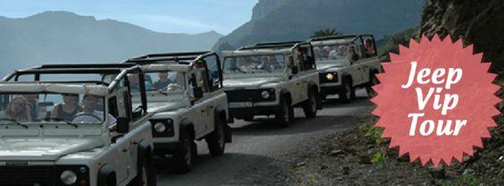 Descubre La Gomera a bordo de nuestros fantásticos 4X4 Descubre la isla colombina de una manera diferente, con nuestros 4X4 descubrirás los rincones más bellos de la isla. #lagomera #tenerife #excursionesenjeep #jeepviptour #vacaciones #viajes http://www.echeydetours.com/18/jeep-gomera-sur