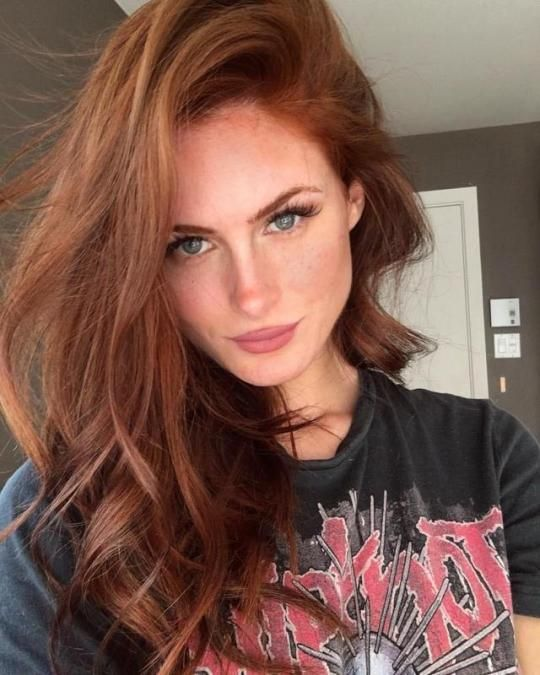 Pin By First Last On Things Red Hair Green Eyes Natural Red