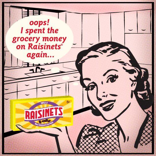 #Raisinets Vintage