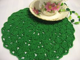 Foothills of the Great Smoky Mountains: Gemstone Doily