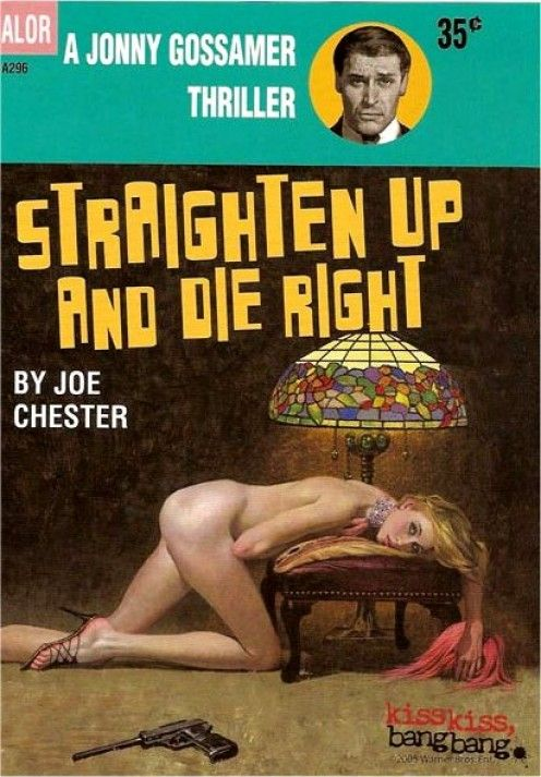Image result for straighten up and die right