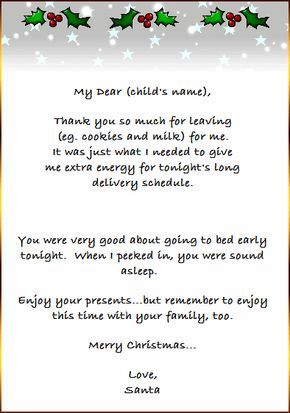 Free Printable Christmas Project Thank You Card From Santa Designed To Match Ou Christmas Lettering Christmas Letter From Santa Free Christmas Printables