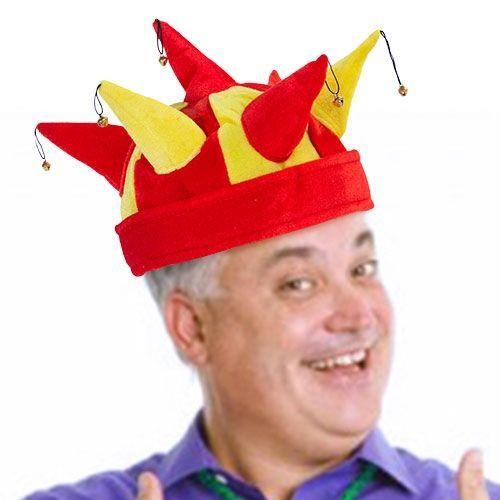 Cappello Giullare con 7 Sonagli Bandiera Spagnola Th3 Party 4 8e213143b45c