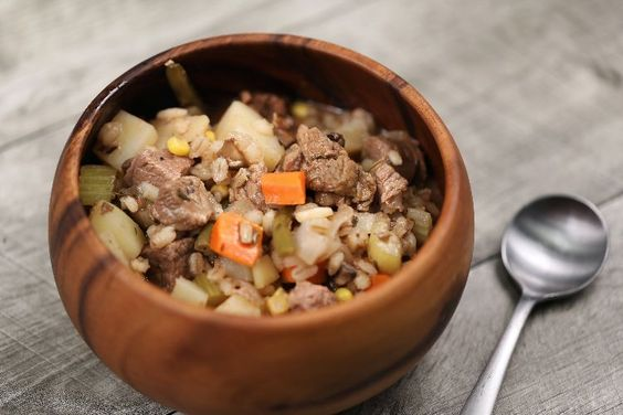 Beef, succulent gravy, and tons of vegetables. They all come together in your slow cooker in this perfect stew.