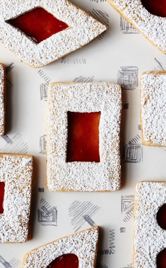 Spiced Brown Butter Linzer Cookies | Recipe | Linzer Cookies, Cookies ...