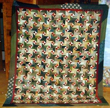 """Bonnie Hunter's tutorial on how to make this """"Star Struck"""" quilt!"""