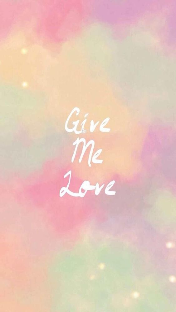 give me love inspirational quotes iphone wallpapers tap