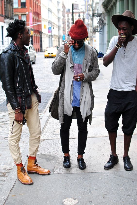 Street style, Boys:
