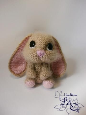Amigurumi Rabbit Face : amazing artistry! love all the details on this bunny and ...