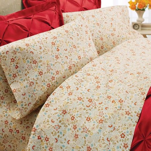 opulent better homes and gardens sheets standard textile | Bed