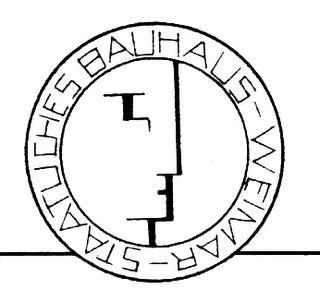 Logo staatliches bauhaus weimar dessau berlis 1923 for Staatliches bauhaus