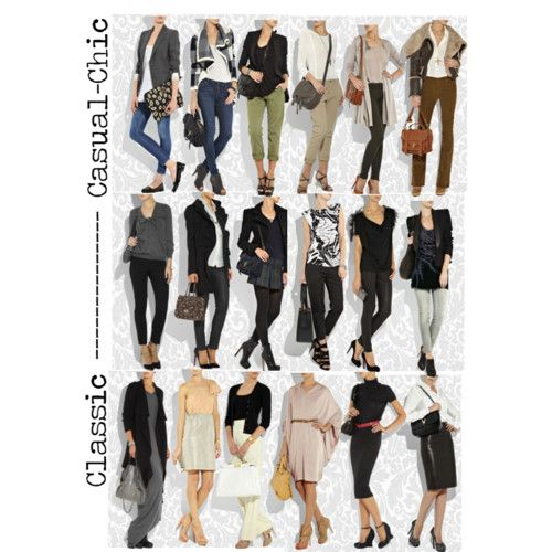 From casual chic to classic clothing style