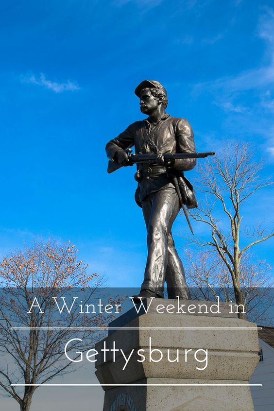 A winter weekend in Gettysburg, Pennsylvania www.casualtravelist.com